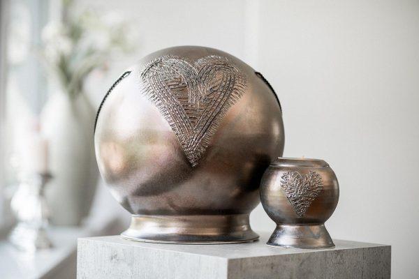 Keramikurne Kugel